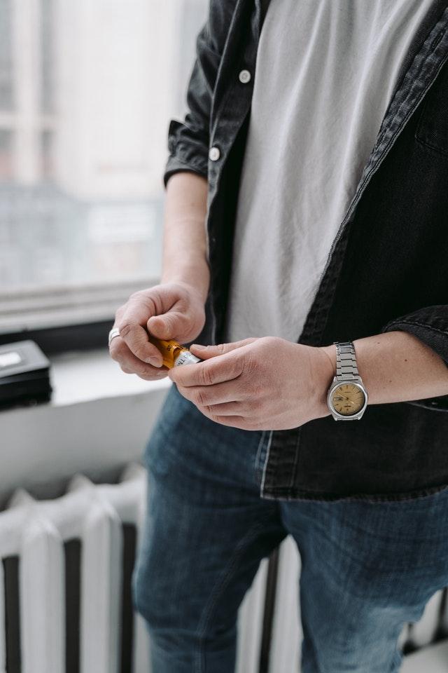boite à montre luxueuse